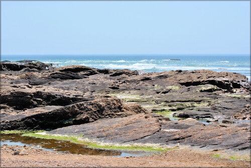 Les Sables-d'Olonne en bord de mer (Vendée)