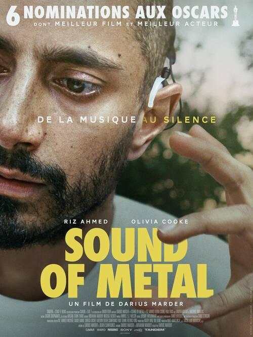 SOUND OF METAL avec Riz AHMED et Olivia COOKE, le 16 juin 2021 au cinéma !