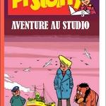 Hubinon et Goscinny, avec Pistolin et son lion dans un récit échevelé...