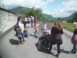 Rando/nonsco : balade entre les villages de Sost et Esbareich (Barousse) - 65