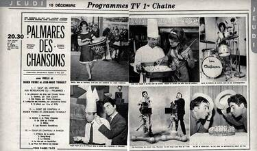 15 décembre 1966 / LE PALMARES DES CHANSONS