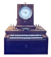 [PHOTO : Télégraphe à cadran (Source : Vision Futur .com (Histoire de l'informatique)]