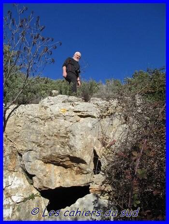 Garlaban - La grotte de Grosibou