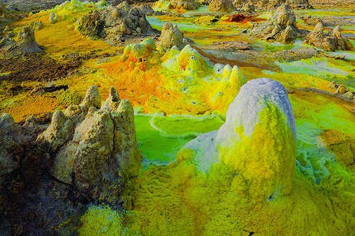 Dallol, le volcan d'acide