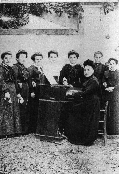 La chorale paroissiale des Arques vers la fin du XIXeme siècle