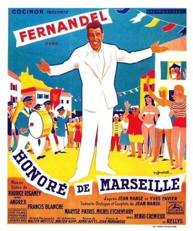 HONORE DE MARSEILLE -  FERNANDEL 1957