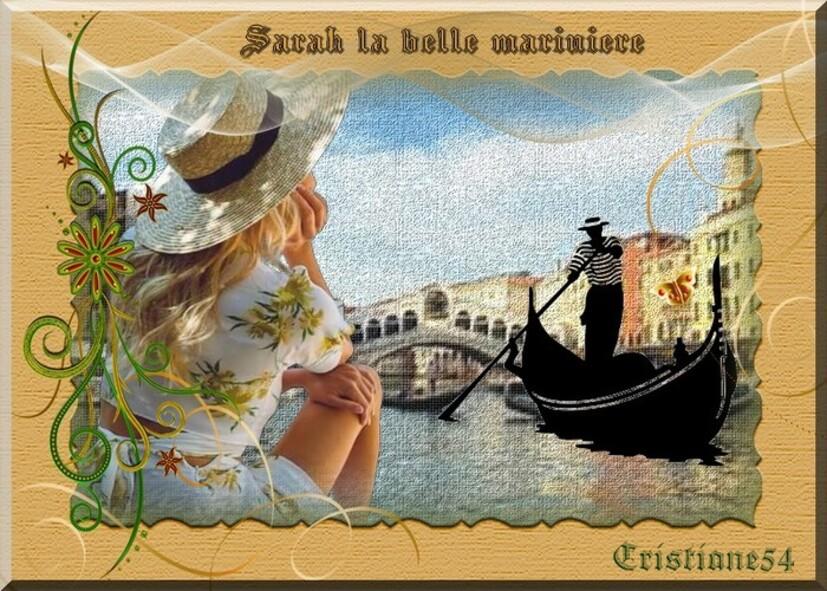 Défi poème pour Marjolaine ( Sarah la marinière )