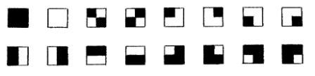 La structure logique du gnomon : 1