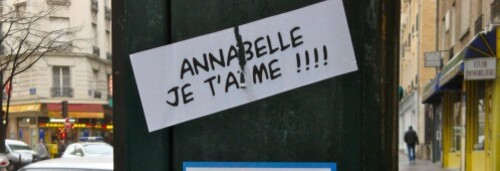 sticker Annabelle je t'aime 4