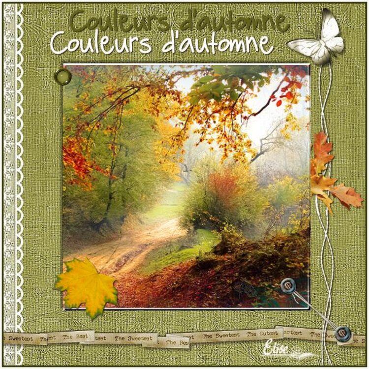 Couleurs d'automne   de Fairymist