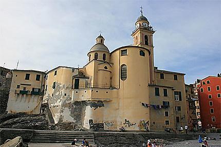 Eglise de Camogli : Eglise : Basilica Santa Maria Assunta : Camogli :  Ligurie : Italie : Routard.com