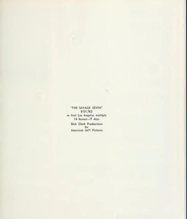 BOX OFFICE USA DU 28 MAI 1968 AU 3 JUIN 1968