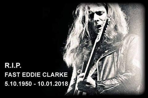 """MOTÖRHEAD / FASTWAY : Décès de """"Fast"""" Eddie Clarke"""