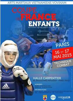 Coupe de France Enfants  Paris Mai 2015