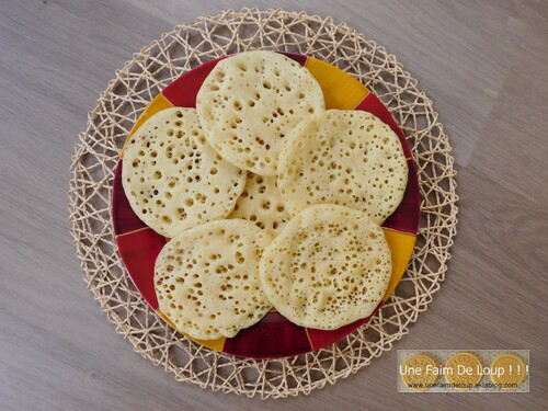 Crêpes mille trous (Baghrir)