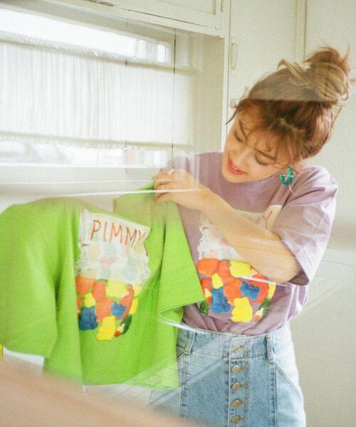 [PIMMY] - Tshirt Gumi - 4 860 ¥