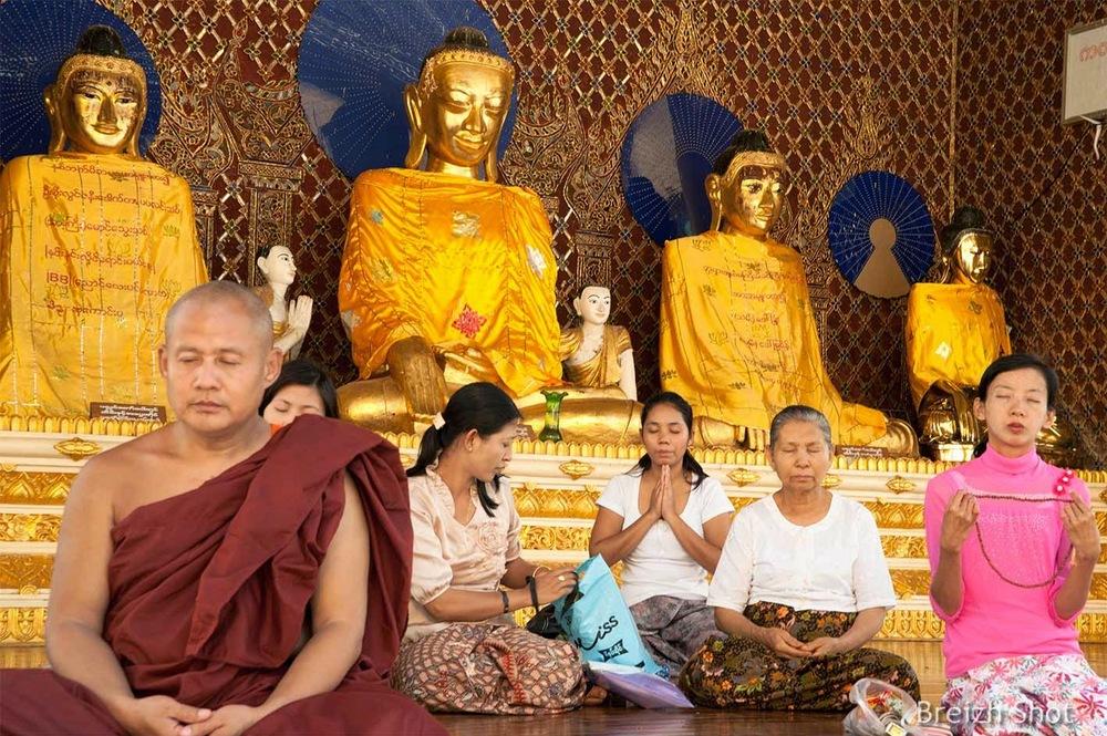 Shwedagon - Méditation