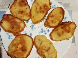 Oladushki (pancakes) aux bananes de Patchouka...