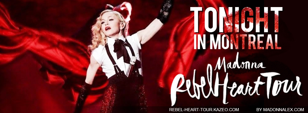 Madonna Rebel Heart Tour JJ
