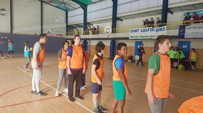La rencontre de handball