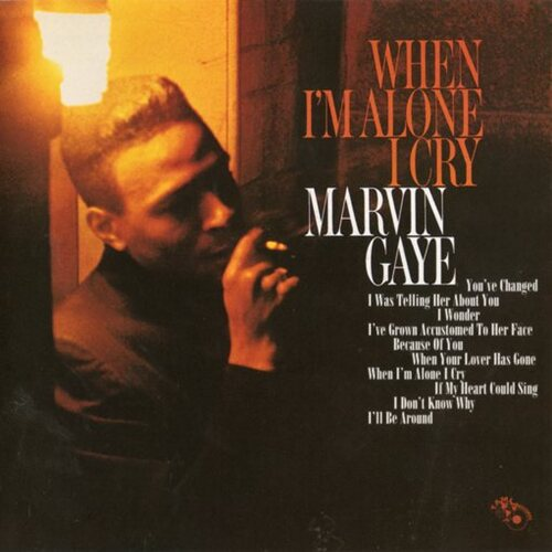 "Marvin Gaye : Album "" When I'm Alone I Cry "" Tamla Records TM 251 [ US ]"