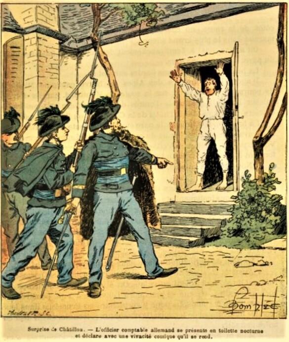 """""""Prussiens et Francs-Tireurs à Ampilly-le-Sec en 1870-1871"""", un notule d'hisoire de Dominique Masson"""