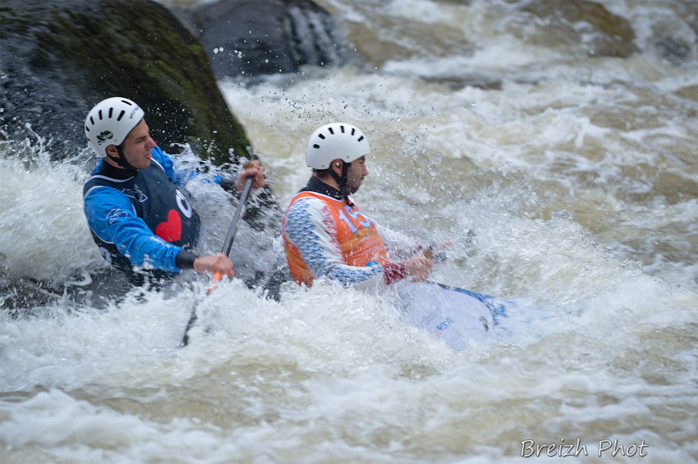 kayak nationale 1 roches du diable - tandem