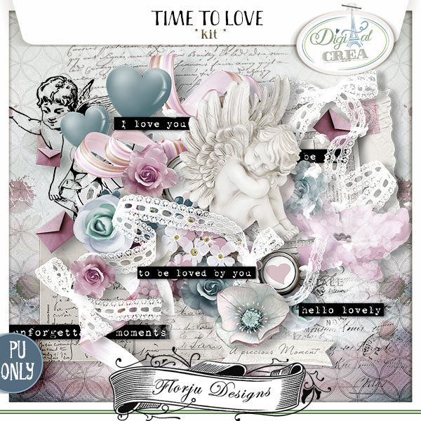 Time to Love { Kit PU } by Florju Designs