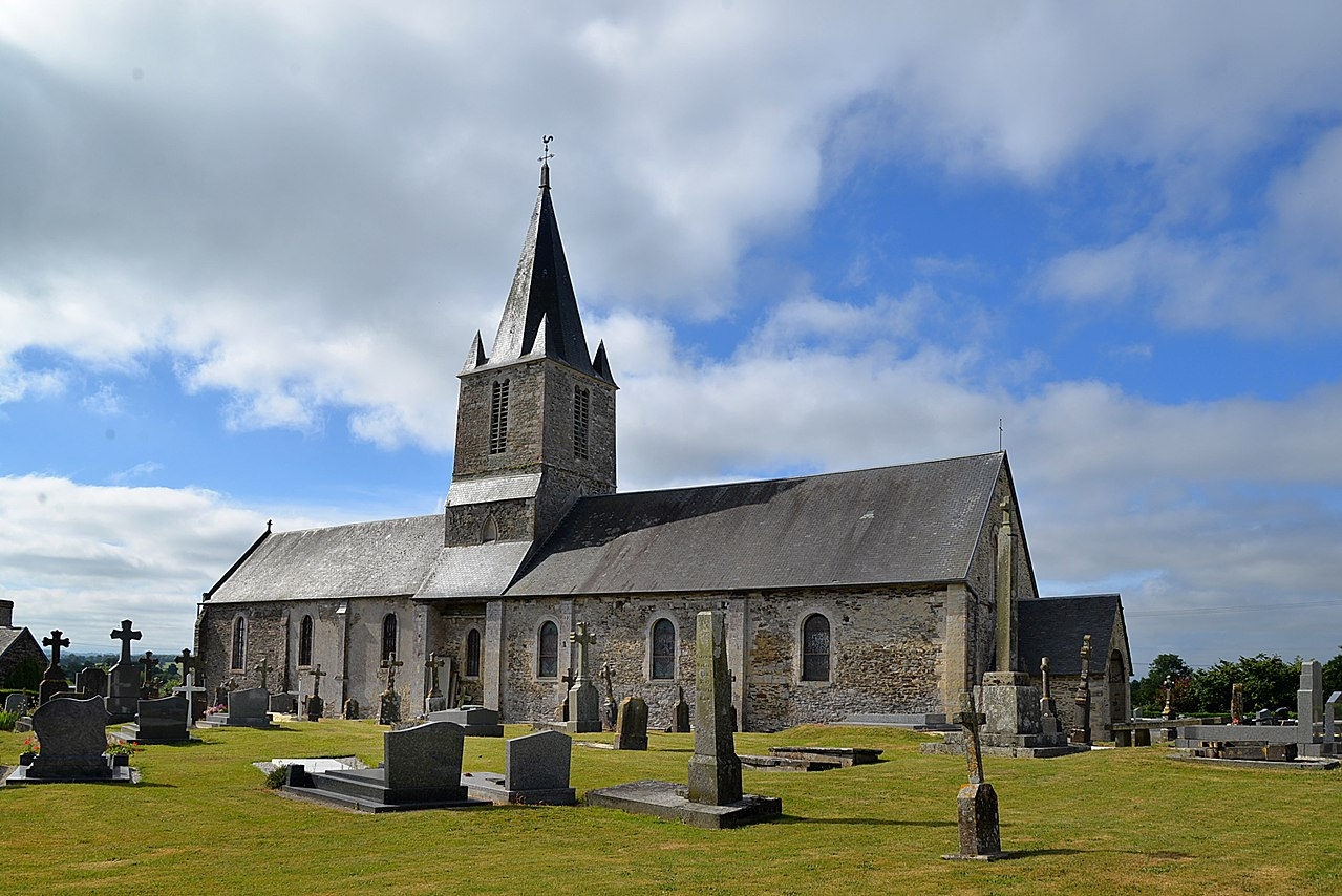 Église Notre-Dame-de-l'Assomption de Litteau. Vue nord-ouest.jpg