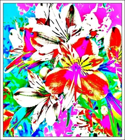Blog de mimipalitaf :mimimickeydumont : mes mandalas au compas, photo revisitée....