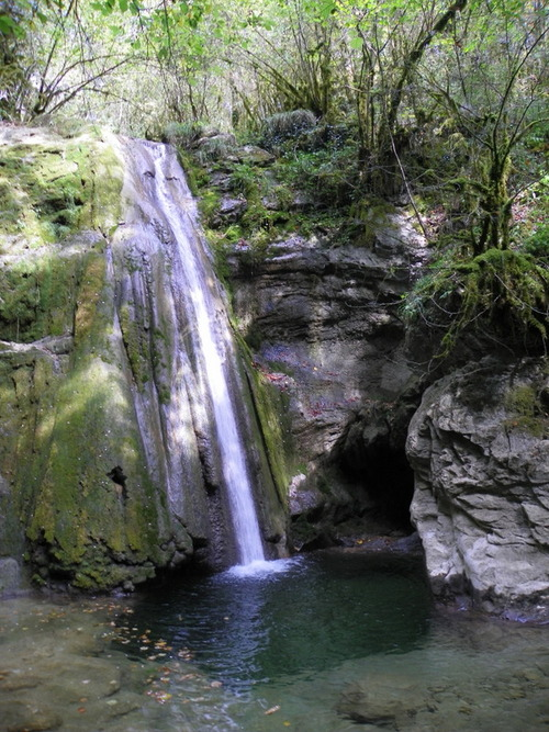La cascade d'Appregnin