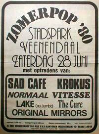 1980.06.28-The Cure-Veenendaal-Stadspark