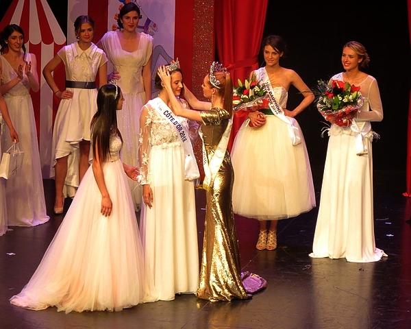 L'élection de Miss Côte d'Or à Châtillon sur Seine ...les résultats