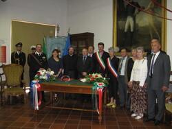 Histoire d'un jumelage (mariage) à à l'italienne