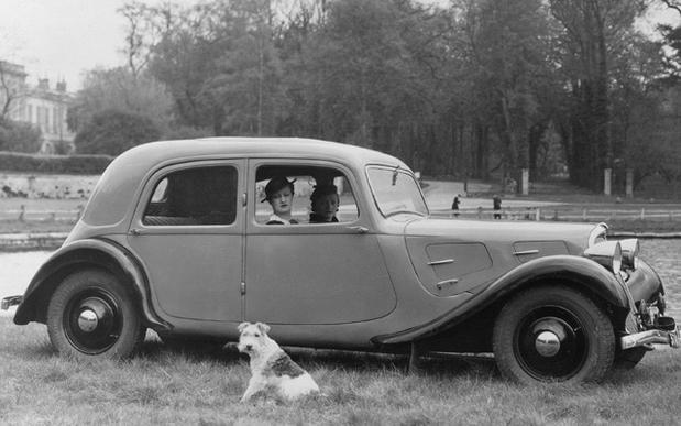 Belle traction année 1933