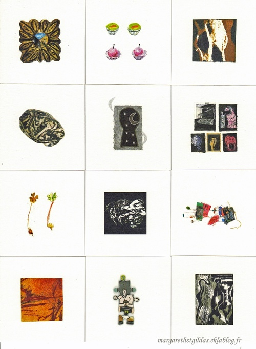 Collection de mini gravures