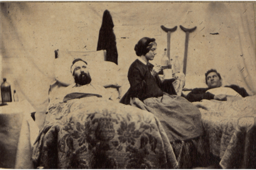 1900 31 (INFIRMIERE DE LA GUERRE DE SECESSION) (CIVIL WAR NURSE)