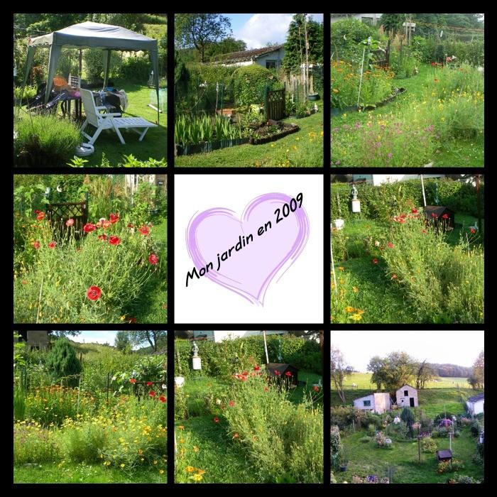 C'était mon petit jardin en 2009