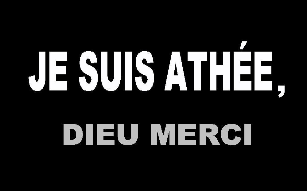 Préférence Je suis athée, Dieu merci - Sensei André SE74
