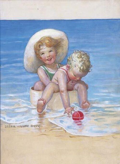 Enfants en vacances