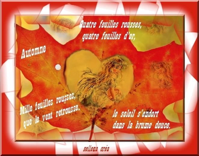 Mille feuilles rousses