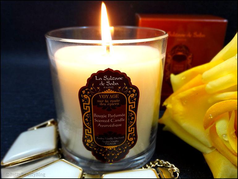 Quand la sultane de Saba fait des bougies ....