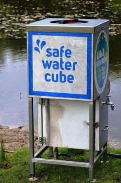 Safe Water Cube : un dispositif qui permet de filtrer 1000 litres d'eau potable par heure