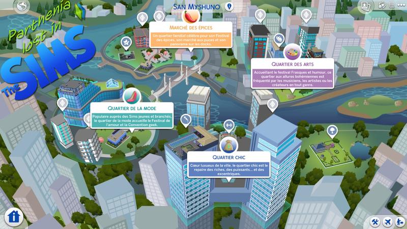 Sims 4 Vie citadine : San Myshuno