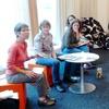 octobre novembrerencontre avec les bibliothécaires présentent les oeuvres