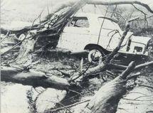 photo prise sur la route de la Montagne, 28 février 1962 - le mémorial de la Réunion.