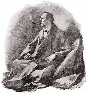 Sherlock Holmes par Sidney Paget