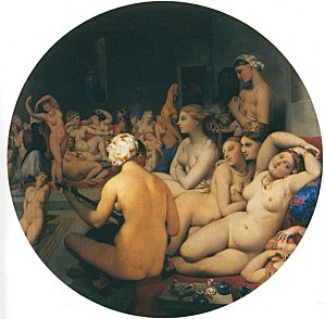 1859-1863 Ingres, Le bain turc The Turkish bath