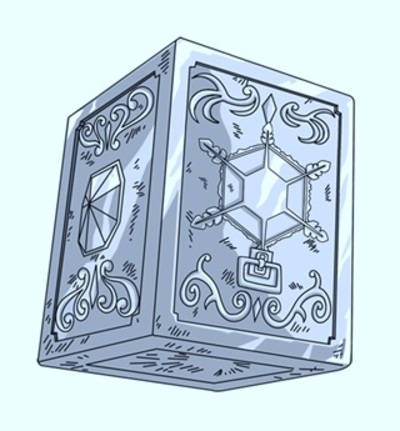 1 - Nord - Armure de Crystal du Gardien du Pôle (Custos Polarisorum/Crystal Cloth)