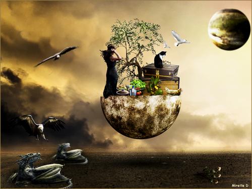 Terre en Danger (Photomontage)